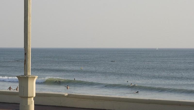 Surf report Les Sables-d'Olonne -  Le Tanchet - France (85) 2009-09-10 19:00:00