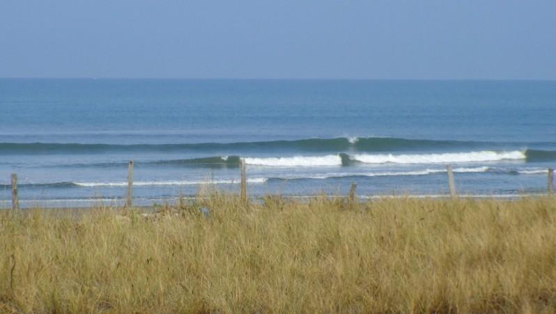 Surf report Montalivet - France (33) 2009-09-17 10:00:00