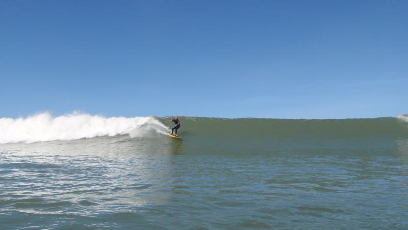 Surf report Lacanau Océan - La Nord - France (33) 2009-08-21 08:00:00