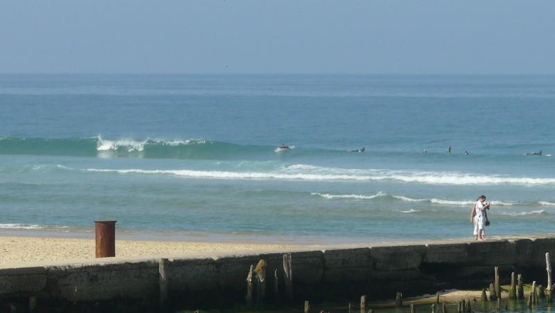 Surf report Mimizan - Plage Garluche - France (40) 2009-09-27 11:00:00