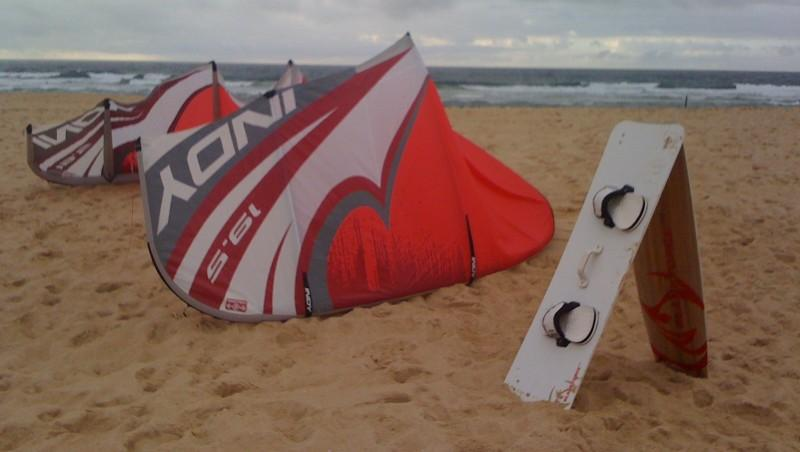 Wind report Soustons Plage - France (40) 2009-10-11 15:00:00