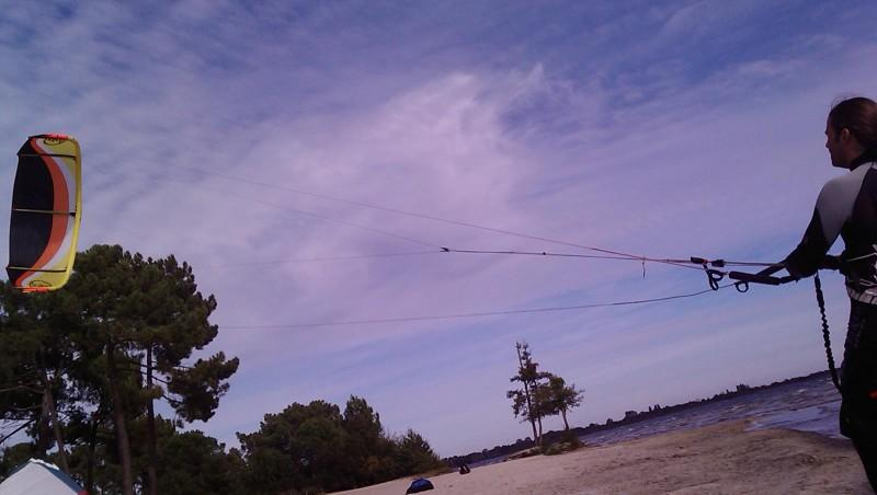 Wind report Cazaux - France (33) 2009-10-19 16:00:00