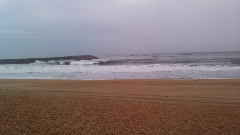 Surf report Anglet La Barre - France (64) 2009-10-23 16:00:00