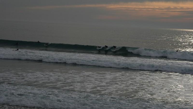 Surf report Les Sables-d'Olonne -  Le Tanchet - France (85) 2009-10-30 16:00:00