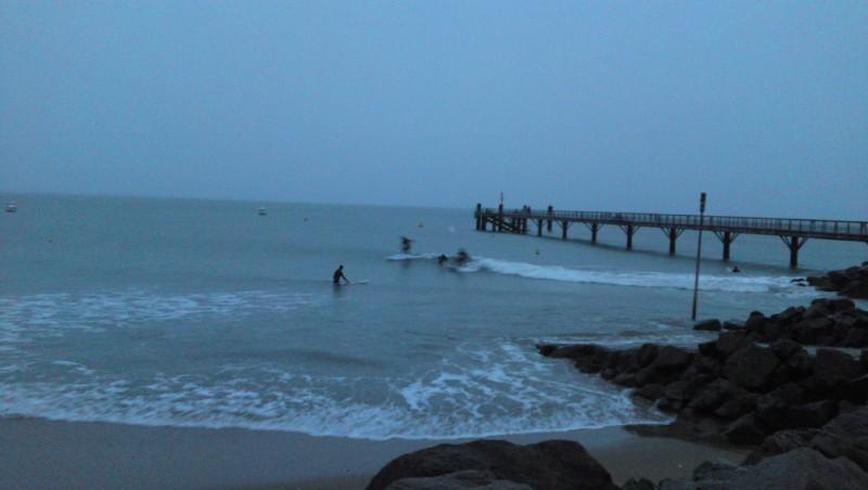 Surf report La Tranche sur Mer - La jetée - France (85) 2009-11-01 15:00:00