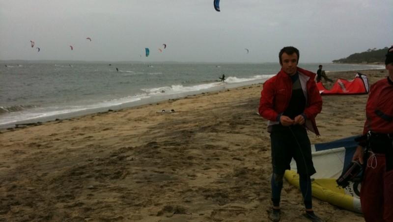 Wind report Arcachon - Les Arbousiers - France (33) 2009-11-03 14:00:00