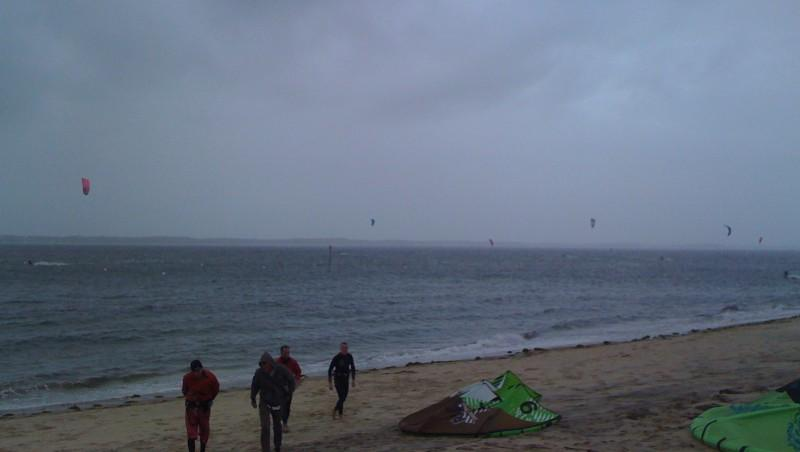 Wind report Arcachon - Les Arbousiers - France (33) 2009-11-03 15:00:00