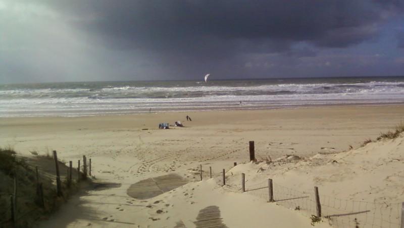 Wind report Le Porge - France (33) 2009-11-06 15:00:00