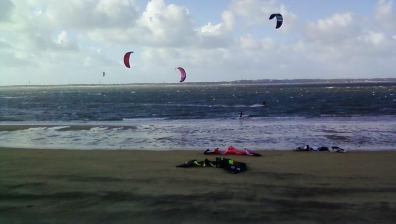 Wind report Arcachon - Les Arbousiers - France (33) 2009-11-08 15:00:00