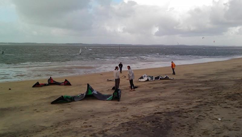 Wind report Arcachon - Les Arbousiers - France (33) 2009-11-08 14:00:00