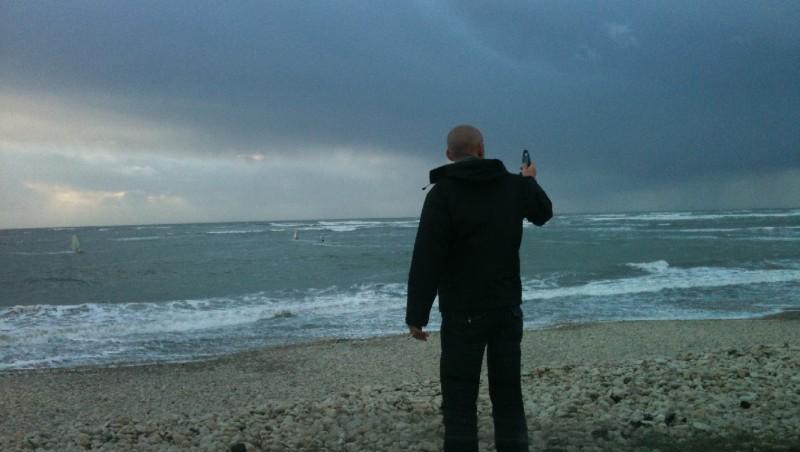 Wind report Les Huttes - Trois Pierres - France (17) 2009-11-08 11:00:00