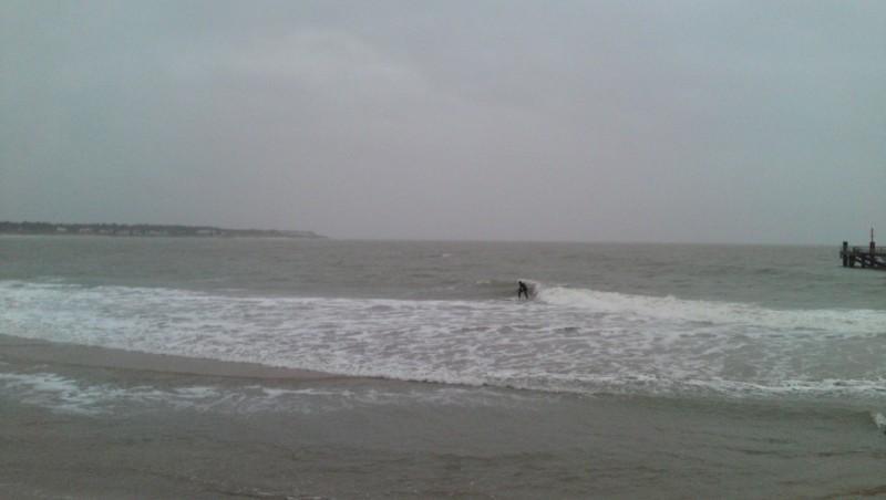 Surf report La Tranche sur Mer - La jetée - France (85) 2009-11-15 14:00:00