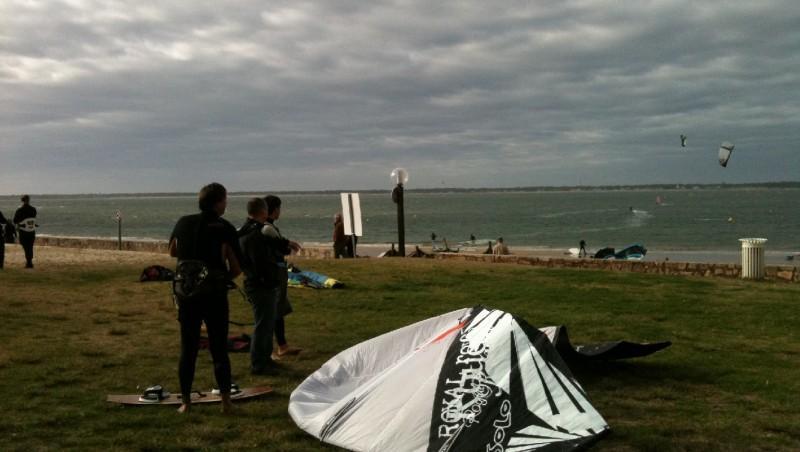 Wind report Arcachon - Les Arbousiers - France (33) 2009-11-22 14:00:00