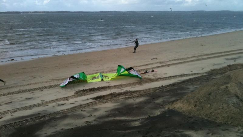 Wind report Arcachon - Les Arbousiers - France (33) 2009-12-03 14:00:00