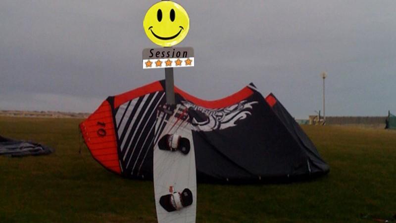 Wind report Montalivet - France (33) 2009-12-06 11:00:00