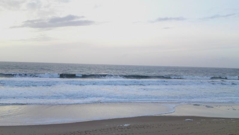 Surf report La Térrière - France (85) 2009-12-06 14:00:00