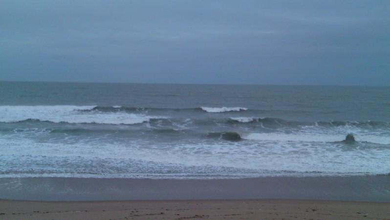 Surf report La Térrière - France (85) 2009-12-09 09:00:00