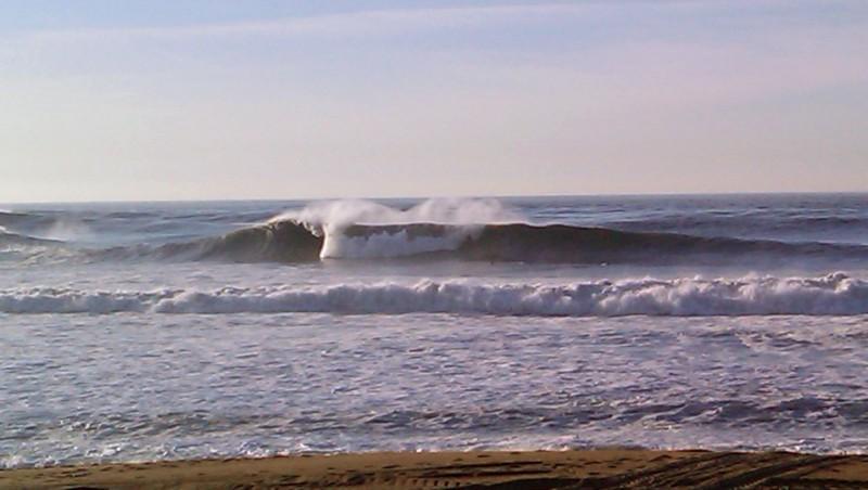 Surf report Anglet La Barre - France (64) 2009-12-09 13:00:00