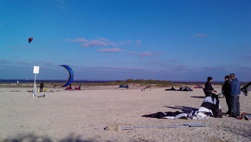 Wind report La Hume - France (33) 2009-12-12 14:00:00