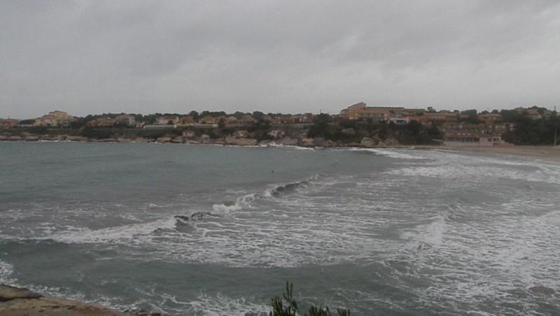 Surf report Plage du Verdon - France (13) 2009-12-23 12:00:00