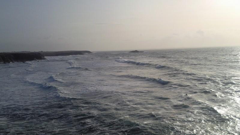 Surf report Quiberon - Port Blanc - France (56) 2009-12-27 15:00:00