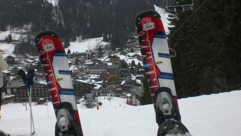 Snow report Morzine - France (74) 2009-02-23 10:00:00