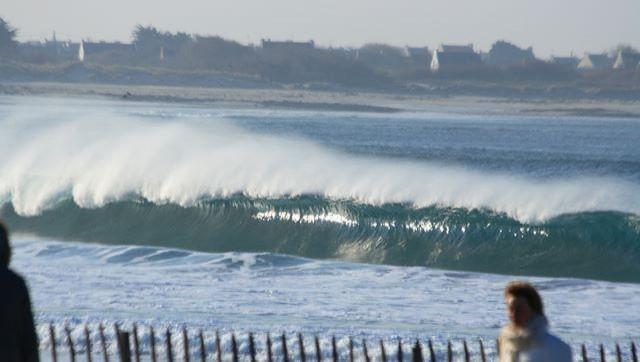 Surf report Pors Carn - France (29) 2009-01-03 12:00:00