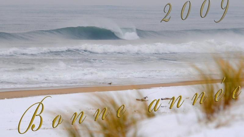 Surf report Seignosse - Les Casernes - France (40) 2009-01-08 12:00:00