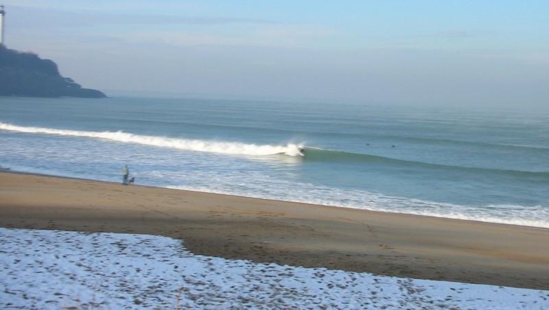 Surf report Anglet VVF - France (64) 2009-01-09 12:00:00
