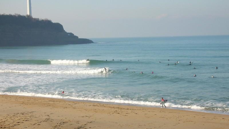 Surf report Anglet VVF - France (64) 2009-01-10 12:00:00