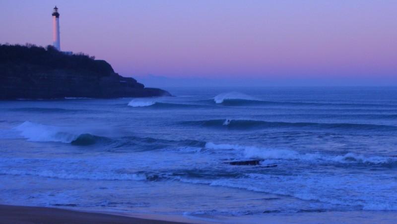 Surf report Anglet VVF - France (64) 2009-01-11 12:00:00