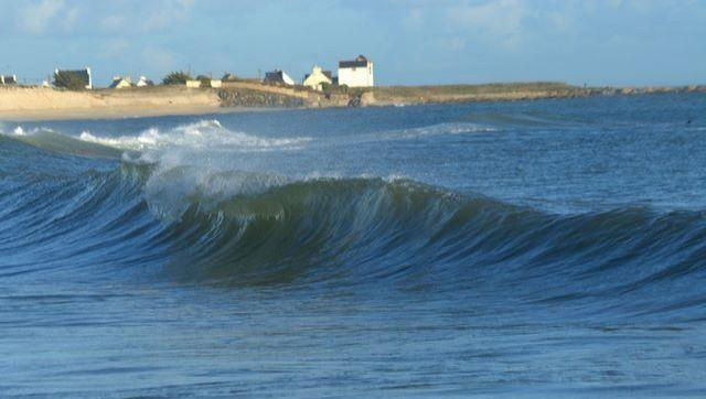 Surf report Sables Blancs (Loctudy) - France (29) 2009-01-13 12:00:00