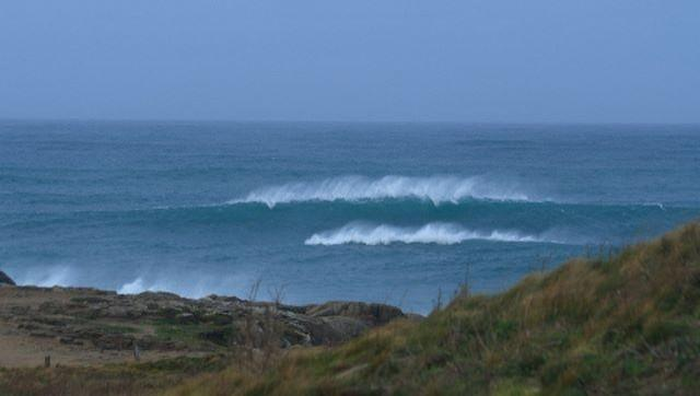 Surf report Pors Carn - France (29) 2009-01-15 12:00:00