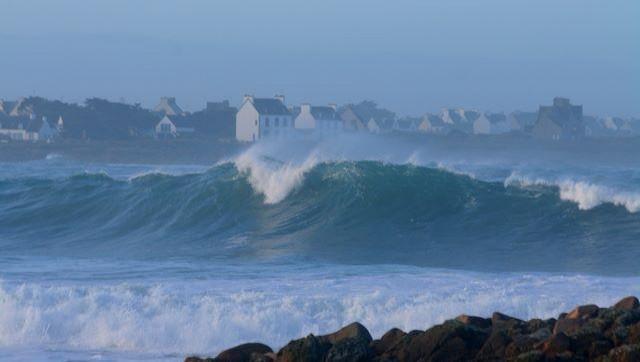 Surf report Pors Carn - France (29) 2009-01-16 12:00:00
