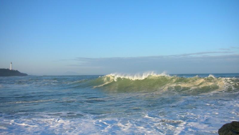 Surf report Anglet Sables d'Or - France (64) 2009-01-17 12:00:00
