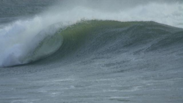 Surf report Plage Sables Blancs - France (29) 2009-01-18 12:00:00