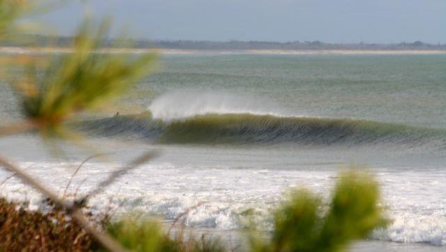 Surf report L'ïle Tudy - France (29) 2009-01-24 12:00:00
