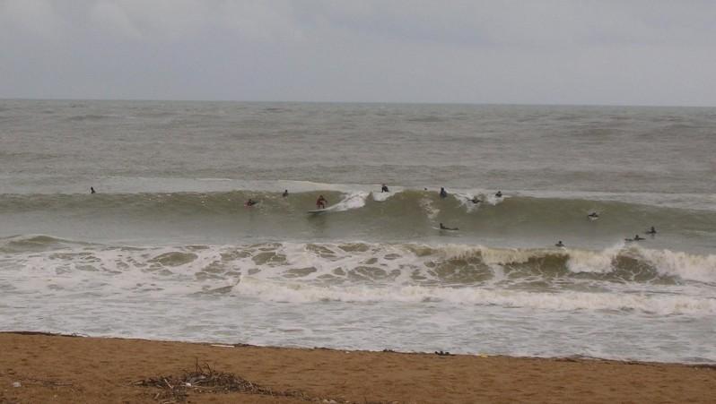 Surf report Anglet La Barre - France (64) 2009-05-01 12:00:00