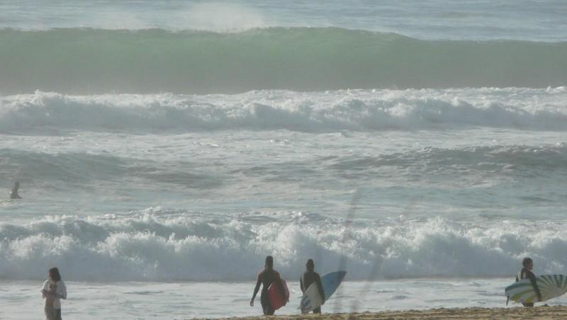 Surf report Mimizan - Plage Sud - France (40) 2009-05-17 12:00:00