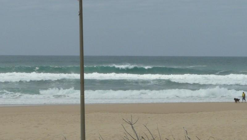 Surf report Mimizan - Plage Sud - France (40) 2009-05-18 12:00:00