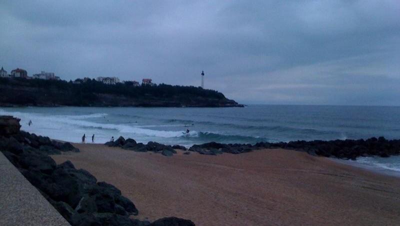 Surf report Anglet VVF - France (64) 2009-07-03 15:00:00