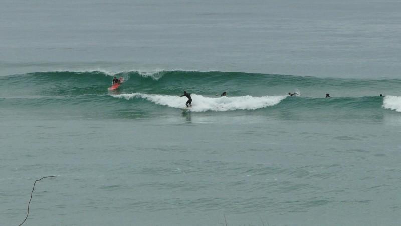 Surf report Mimizan - Plage Sud - France (40) 2009-07-05 12:00:00