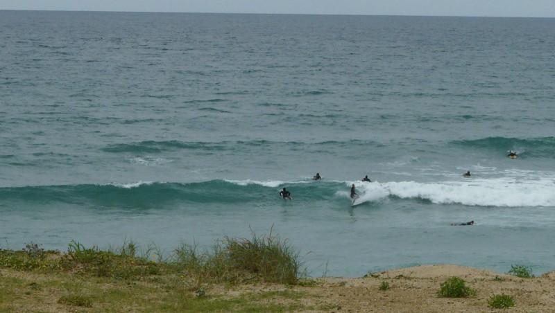 Surf report Mimizan - Plage Sud - France (40) 2009-07-06 12:00:00