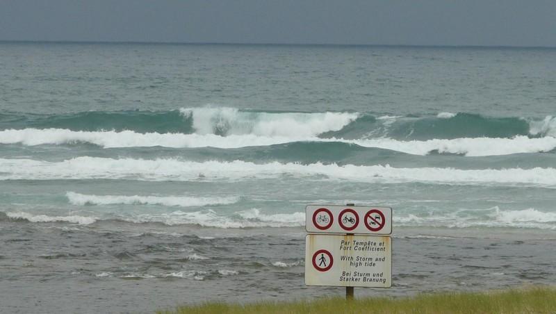 Surf report Mimizan - Plage Sud - France (40) 2009-07-08 12:00:00