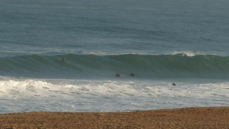 Surf report Anglet Corsaires - France (64) 2009-07-16 12:00:00