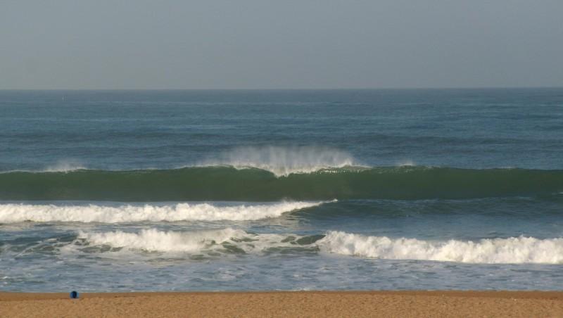 Surf report Anglet Sables d'Or - France (64) 2009-07-16 12:00:00