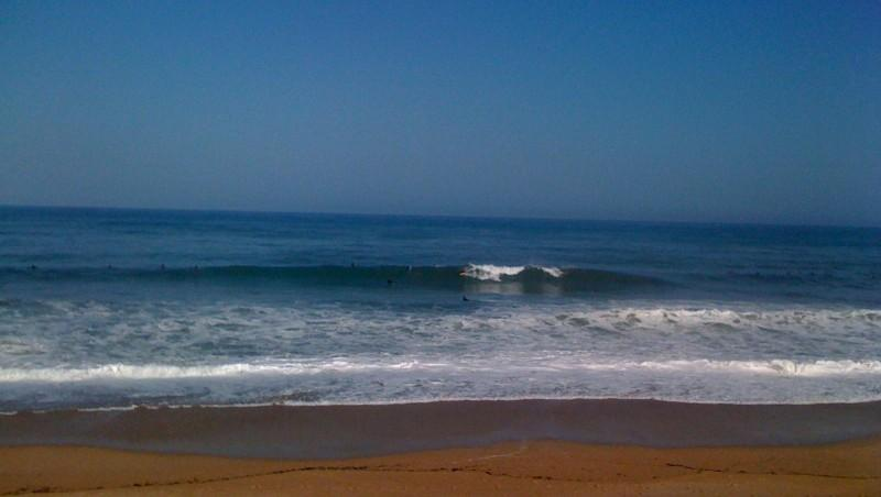 Surf report Anglet Surf Club - France (64) 2009-07-16 12:00:00