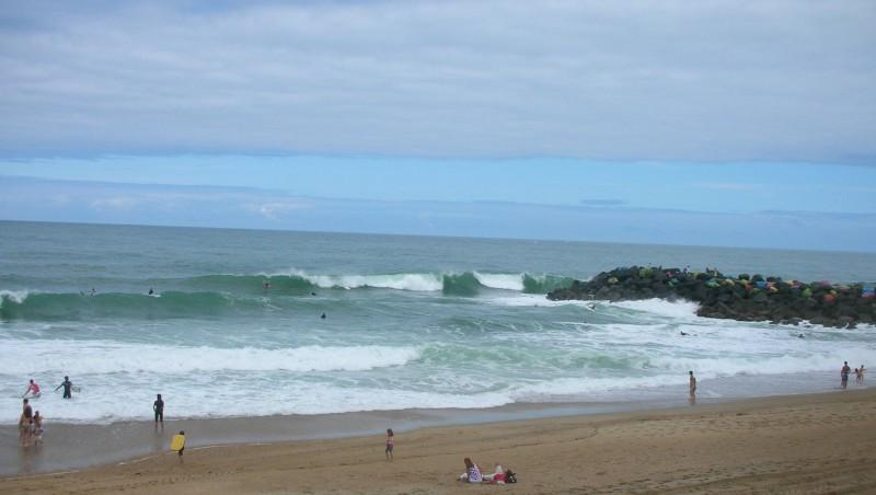 Surf report Anglet Sables d'Or - France (64) 2009-07-19 12:00:00