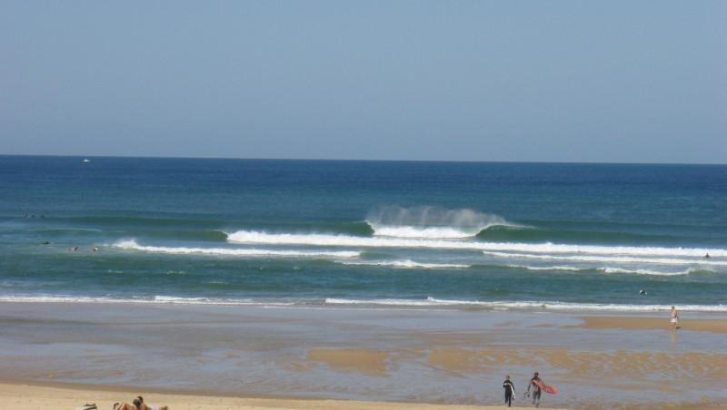 Surf report Seignosse - Les Casernes - France (40) 2009-07-20 12:00:00