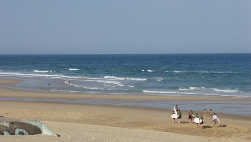 Surf report Seignosse - Les Casernes - France (40) 2009-07-21 12:00:00